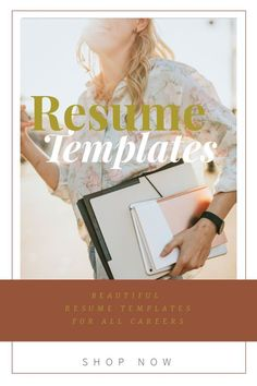 This modern resume template package includes 1, 2 and 3 page resume templates, cover letter, references and easy to use instructions. Resume can be immediately downloaded, edited and uploaded to a job posting.  Your resume is THE most important document you will ever own - by investing in a professionally designed resume, you are now ahead of the competition. Microsoft Word Resume Template, Modern Resume Template, Creative Resume Templates, Cv Template, Cover Letter For Resume, Cover Letter Template, Resume Examples, Resume Tips, Sales Resume