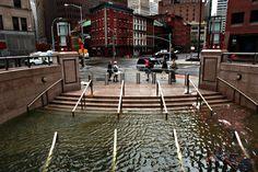 Flooded Underground Shopping Mall, NYC, Hurricane Sandy, Oct, 2012