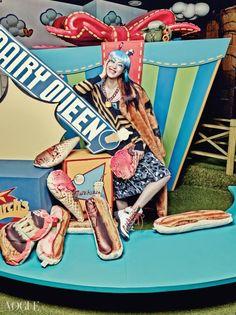 """""""Candy Pop!"""" Vogue Korea 2014"""