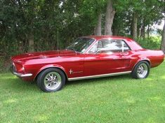 '67 Mustang Coupe by patsy #mustangclassiccars