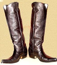 Mens Boots Fashion, Mens Attire, Tall Boots, Cowboys, Cowboy Boots, Derby, Heeled Boots, Boards, Footwear
