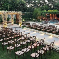 42 wedding decoration ideas to try 10 outdoor wedding ideas perfect for spring Wedding Goals, Destination Wedding, Wedding Vendors, Wedding Events, Perfect Wedding, Dream Wedding, Ghana Wedding, Wedding Ceremony Decorations, Wedding Outdoor Ceremony