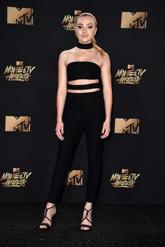 Peyton List - Every Must-See Look from the 2017 MTV Movie and TV Awards Red Carpet - Photos