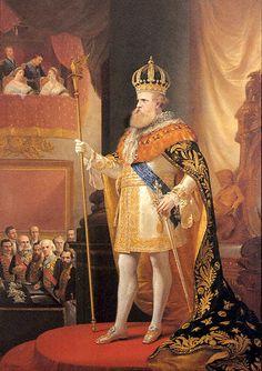 royalty - 1872 old Dom Pedro II - Emperor of Brazil