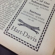 50年代イギリスの雑誌広告(書店,出版社) - Vintage English Ad(1950's) - @tengyu_bookstore- #webstagram