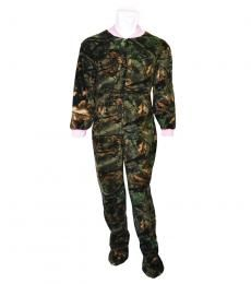 Ladies Footed Camo PJ-Lounger
