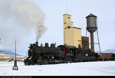 RailPictures.Net Photo: NNRy 93 Nevada Northern Railway Steam 2-8-0 at Ely, Nevada by Hunter Lohse