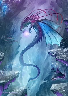 The Common Dungeon Master — madcat-world:   King of the Undersea - Dragolisco