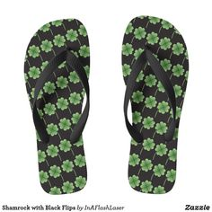 Shamrock with Black Flips #stpatricksday st.patricks day #shamrock #sneakers saints patricks day outfits #womensday shoes sneakers Shoes heels shoes teen shoes flats shoes boots womens shoes sneakers womens shoes flats womens shoes high heels womens shoes casual womns shoes for work mens shoes casual mens shoes with jeans mens shoes dress st patricks day shoes  #shoesoftheday #shoes zazzle produtc #irish #womensshoes #mensshoes #heels #boots canvas shoes #canvasshoes #zazzle #womenswear