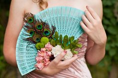 alternative to flowers for bridesmaids | This bridesmaid bouquet alternative is also from that lovely shoot ...