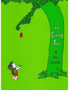 Green Books for Kids. The Giving Tree, by Shell Silverstein, is another environmental classic book about the long term relationship between a boy and a tree. The boy both loves and destroys the tree (anything ring any bells about our relationship with the world, here?).  If you visit Shel Silverstein's site, you'll find whimsical animations of this and other books.