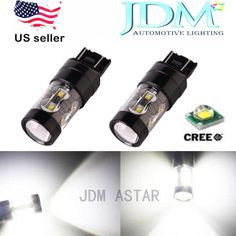 JDM ASTAR 50W CREE LED Super White 7440 7441 7443 Car Turn Signal Light LED Bulb #JDMASTAR