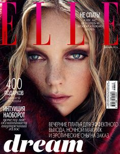 Elle Russia Fashion Cover 2014 shot by fashion photographer Xavi Gordo represented by 8AM - 8 Artist Management #artistmangement #fashion #editorial  #8artistmanagement #xavigordo ★★ 8AM / 8 Artist Management ★★  more photos in http://8artistmanagement.com/