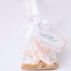 Starfish Beach Wedding Cookie Favors // Wedding Favors // Bridal Shower Favors // Star Fish Birthday Party Favors. $37.50, via Etsy.