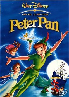 """Peter Pan - """"Second star to the right and straight on till morning."""""""