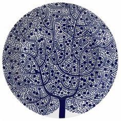 Fable Tree Round Serving Platter 31.5cm - Karolin Schnoor