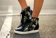 Jessica from Hapa Time in the Army Brat Sneakers (http://www.nastygal.com/product/army-brat-sneaker) #ShoeCult