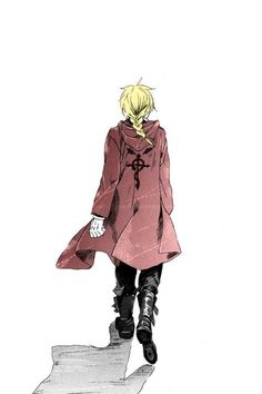 ed full metal alchemist Clothes Colored trench coats.... Yup.  They happen a lot with the male anime characters.  It is something that you can feel free to imitate to whatever extent your comfortable with in order to infuse anime into your wardrobe.  You can just make a shirt that is extra long and detail it, or go full out on a coat.