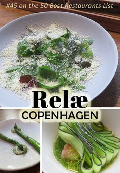 Relae in Copenhagen, ranked #45 on the 50 Best Restaurants List
