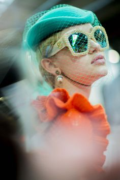 Backstage at Gucci Fall/Winter 2016 Ready to Wear at MFW