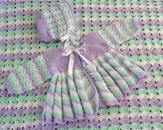 Maggie's Crochet · Dainty Ripple Layette Crochet Pattern