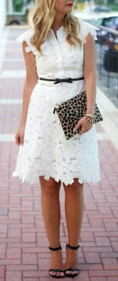 summer time #white lace dress http://rstyle.me/n/hznzqr9te