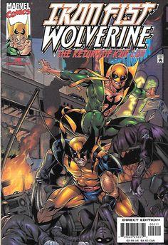 Iron Fist/Wolverine : Return Of K'un Lun # 2 Marvel Comics