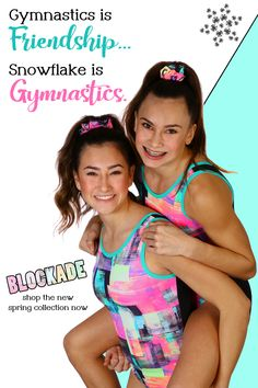 Snowflake Designs has been creating cute and unique gymnastic leotards for girls and boys, competition leotards, and gymnastics clothes for over 35 years. Our leotards are known for their great fit (no more leotard wedgies!), high-quality construction, custom fabrics, and unique designs. We design workout leotards, competition leotards, warm-up suits, and other custom athletic clothing for recreational and competitive gymnasts. Funny Ads, Funny Laugh, Funny Texts, Gymnastics Clothes, Gymnastics Leotards, Amazing Gymnastics, Girls Leotards, Snowflake Designs, Last Day Of School