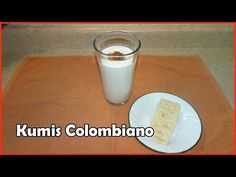 COMO HACER KUMIS COLOMBIANO CON TRES INGREDIENTES - YouTube Smoothies, Smoothie Drinks, Cuban Recipes, Healthy Recipes, Dominican Food, Colombian Food, Filipino Desserts, Comida Latina, Latin Food