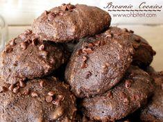 ~Brownie Cookies! http://www.ohbiteit.com/2013/07/brownie-cookies.html