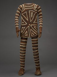 Masquerade costume, Chokwe peoples, Central Africa, mid-1900's.