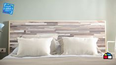 Camas King, Bedroom Furniture, Repurposed, Bed Pillows, Pillow Cases, Lofts, House, Bedrooms, Home Decor