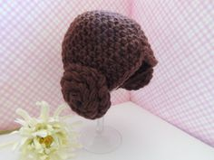 Star+Wars+Princess+Leia+baby+hat+by+CraftsyMomma+on+Etsy,+$23.00