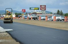Image : Cedar St asphalt