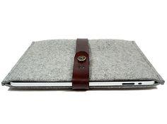 felt laptop sleeve