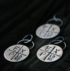 EXPlore Necklace by jonesingforjewelry on Etsy, $27.00