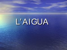 experiments-amb-aigua by plametller via Slideshare Sistema Solar, Ocean Projects, Earth Craft, Educational Videos, Science For Kids, Science Experiments, Natural, Places To Visit, Oceans