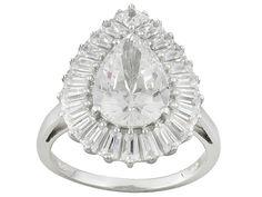 Brilliant Legacy (R) For Bella Luce (R) 8.60ctw Platineve (Tm) Ring