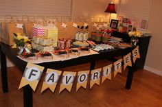 Blue Eyed Blessings: favorite things birthday party!