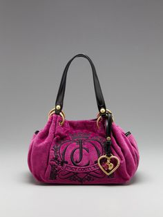 Juicy Couture Baby Fluffy Satchel Bag