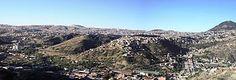 Sucre - Panorámica de la ciudad de Sucre desde la zona sur.