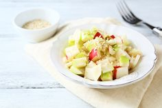 Apfel-Fenchel-Salat  #easy #quick #fennel #apples #healthy #salad #vitamins #yummy #snack #veggy