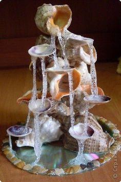 Fairy House - How to Make Amazing Fairy Furniture Seashell Art, Seashell Crafts, Beach Crafts, Fairy Crafts, Diy And Crafts, Glue Crafts, Fairy Furniture, Fairy Garden Accessories, Miniature Fairy Gardens