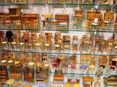 Miniature Chair Collection, via Flickr.