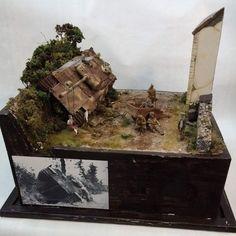 Nice diorama!!! Modeler Lengyel David #scalemodel #plastimodelismo #usinadoskits #udk #miniatura #miniature #maqueta #hobby #plasticmodel #plastimodelo #modelismo #modelism #modelisme #miniatur #miniature #maqueta #maquette #scalemodelkit #diorama #dioramas #scalemodelsworld