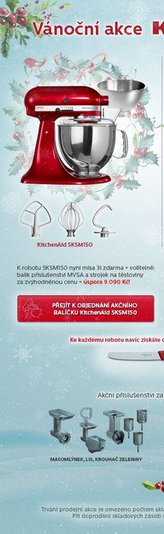 Akce - Kitchenaid 5KSM150