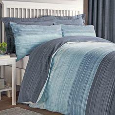 Blue Halton Bed Linen Collection