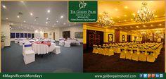 Discover the Best destination for your conferences and meetings at Golden Palms Hotel & Spa, Bengaluru Visit www.goldenpalmshotel.com for details. #MagnificentMondays