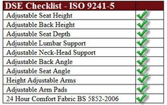 All our office posture chairs exceed the current DSE seating specifications #DSE http://www.backchairs-direct.co.uk