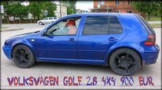 Volkswagen Golf  2.8 I 2000 г.в., бензин,  203 л.с., 4х4 (полный привод).  Полностью исправный, автомобиль, в качестве «донора».  Осмотр, покупка и доставка заказана в компании  Auto-Spar. Стоимость  автомобиля  900 евро.